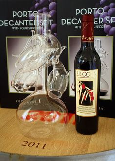 B.R. Cohn Winery will be hosting Decanter Workshops in the VIP room Fri-Sun throughout June 2012. We will be opening some older vintages and new vintages and talking about the how, why and when to decant. Decanters and aerating wine accessories will be 10% off.