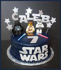 Amanda's Custom Cakes: Lego Star Wars