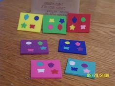 Susans Mini Talk: Foam Puzzles