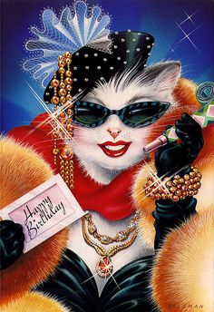 The Real GLAMOUR PUSS...