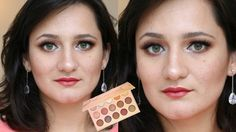 HOLIDAY Makeup Tutorial | Colourpop Golden State of Mind Eyeshadow Palet...