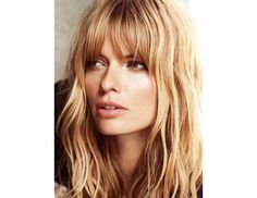 The 21 Best Haircuts with Bangs via @byrdiebeauty