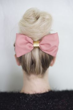 Pink hair bow!!!