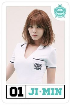 K pop girl group AOA has released individual teaser images for their upcoming track 'Heart Attack'. The girls appear on players' cards for their individual teaser images, which were revealed for members Chanmi, Mina, ChoA, and Jimin. Jimin Aoa, Shin Jimin, Image For Heart, South Korean Girls, Korean Girl Groups, Aoa Elvis, Asian Woman, Asian Girl, Wonder Boys