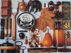 browns: pages from the very calendar that inspired me...very happily found on salbug00's flickr