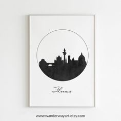 World map, State and city art, Nursery and Home Decor by WanderWayArt Florence Art, Florence Italy, Netherlands Map, Washington Art, Scandinavian Art, City Maps, Custom Map, Diy Wall Art, Geometric Art