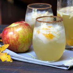 Honey Crisp Apple Sangria- at season's peak right now :)