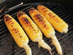 An excellent grilled corn how-to. So easy when the grill is already on!