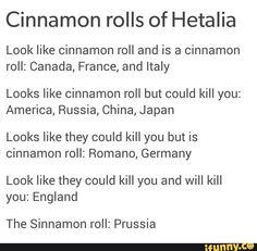 Hetalia Cinnamon Rolls <3