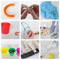 get your #kids ready to #write with these FUN ways to improve fine-motor strength and hand-eye coordination!