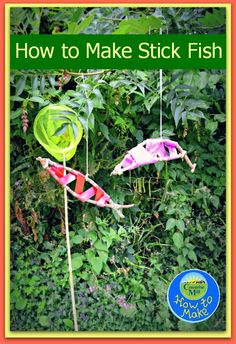 Fish Crafts and Tuesday Tutorials Week 29 - In The Playroom