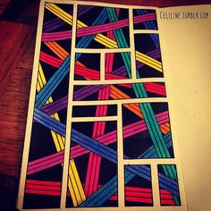 colored zentangles - Google Search