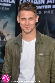 "Jean-Luc Bilodeau at the ""Captain America: The Winter Soldier"" movie premiere"