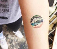 Swing tattoo by Eva Krbdk