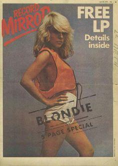Blondie 5-Page Special | Record Mirror newspaper