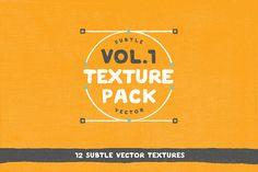 Free ... Vol. 1 Texture Pack - 12 Vectors by ryantheweave on @creativemarket ... https://crmrkt.com/2m4gz