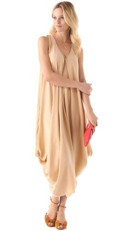 HATCH The Soiree Silk Dress