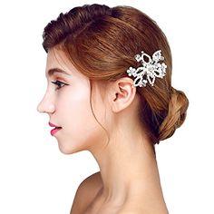 Wedding Hair Flowers, Flowers In Hair, Hair Jewelry, Jewelry Sets, Flower Hairstyles, Wedding Hairstyles, Flower Tiara, Pearl Hair, Wedding Hair Accessories