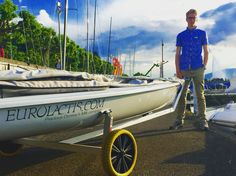 Eurolactis sponsoring SWISS Sailing Team Talent • Arthur Baudet