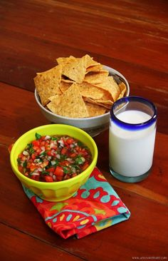 You may never buy store bought salsa again after making this ridiculously easy salsa fresca that tastes so much better than anything from a jar or can.