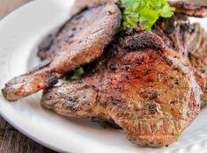 Five spice grilled pork chops
