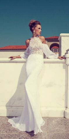 Wedding Dresses by Julie Vino Fall 2014  | Julie Vino