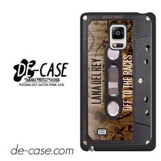Lana Del Rey Tape DEAL-6339 Samsung Phonecase Cover For Samsung Galaxy Note Edge