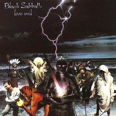 USED VINYL RECORD double 12 inch 33 rpm vinyl LP Released in 1982, Warner Brothers Records (W1 23742) This was the first official live album from Black Sabbath and was recorded in Seattle. Side 1: E51