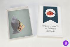 Geldgeschenke - Geschenk-Box zur Kommunion/Konfirmation/Firmung - ein Designerstück von JessicaLorenzDesign bei DaWanda