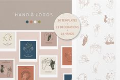 Hand occult logo template 1# by piixypeach 21st Decorations, 2 Logo, Hand Logo, Illustrator Cs, Free Graphics, Floral Illustrations, Vector Pattern, Logo Templates, Design Elements