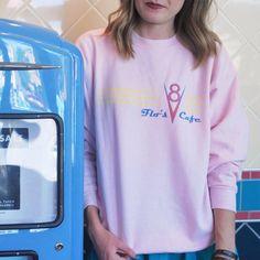 Flo's V8 Cafe - Unisex Sweatshirt #AllIWantBBY #AllIWantForChristmas #BrandByYou