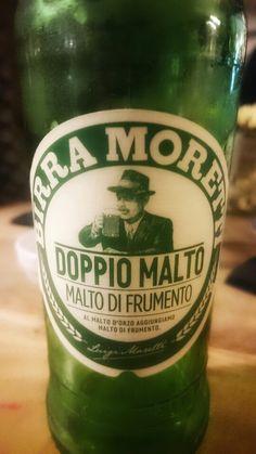 Birra Moretti en Italiana_Madrid