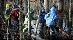 Forest Kindergartens are growing in popularity all over the world. They acknowledge that children learn best through exploration, discovery, and that Nature is one of our greatest sources of wisdom. http://www.nytimes.com/2009/11/30/nyregion/30forest.html?_r=1