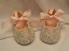 #bling hope baby girl's foot fits!!