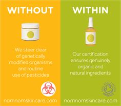 What we leave out of our organic skincare for mums and babies is as important as what we put in. Our organic skin care steers clear of genetically modified organisms (GMOs) and routine use of pesticides. Our organic certification ensures genuinely organic and natural ingredients. Our ethical approach means you can feel good about using our products on your skin. Organic skin care for pregnancy and baby #FeelNomNom