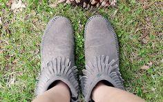 Double Fringe Side Zip Boot via My Style // Subtle Specs Piercing Patterns Side Zip Boots, Moccasins, Specs, Piercing, Spring Fashion, Combat Boots, High Heels, Shoe, Patterns