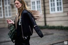 Danish model after Freya Dalsjø FW15