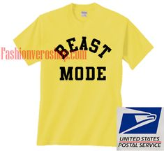 Beast Mode t shirt men and t shirt women by fashionveroshop