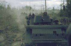 M113 armored personnel carriers of the 11th Armored Cavalry Regiment (ACR) || Vietnam War