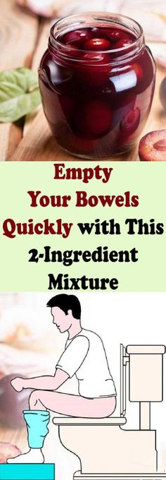 Empty Your Bowels Quickly with This 2-Ingredient Mixture #health #beauty #diy #detox #clean #body