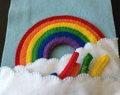 Výsledek obrázku pro quiet book rainbow