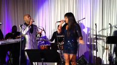 """Shanice and B Slade Singing """"Just A Game"""""""