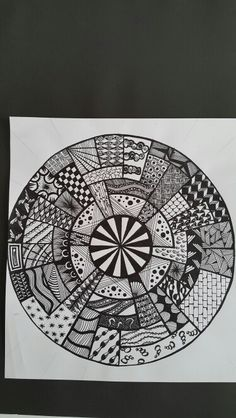 Zentangle inspired from the net