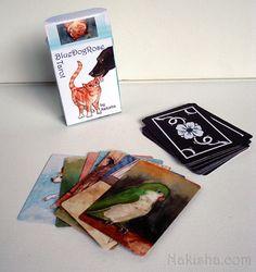 De BlueDogRose Tarot - 78 kaartendek dierlijke Tarot door Nakisha & La cubierta de Tarot eflorescente: Tarjetas del Color | Tarot ... pezcame.com