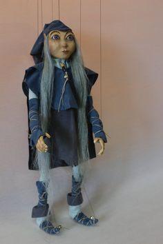 marionette Little Elf_1 marioneta puppet por Etceteramarionetas