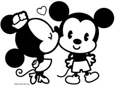 Fresh Free Coloring Pages Of Tsum Mickey