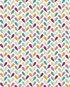 If By Air - Leaves, Custom Lg Scale fabric by ttoz for sale on Spoonflower - custom fabric, wallpaper and wall decals