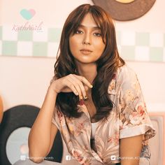 """""""We hit another milestone and we are so excited for more to come! Filipina Actress, Daniel Padilla, Cant Help Falling In Love, Kathryn Bernardo, Asian Beauty, Asian Girl, Fashion Models, Hair Cuts, Dj"""