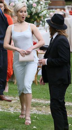 Stun in Jennifer's studded Balenciaga summer sandals #DailyMail