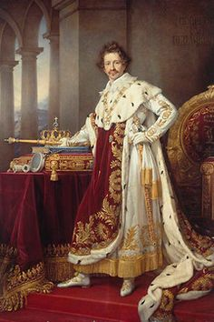 king Ludwig, the creator of Schloss Neuschwanstein in Bavaria